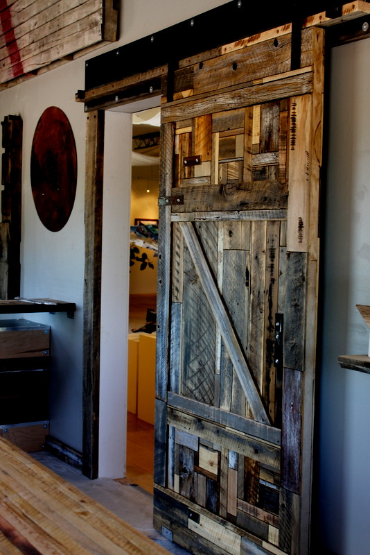 reclaimed barnwood doors