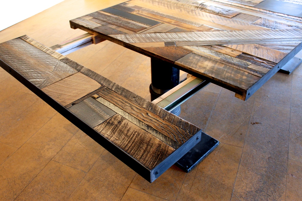 Industrial Reclaimed Wood Tables Twenty1five Denver