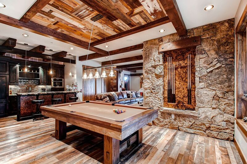 reclaimed wood residential interior design