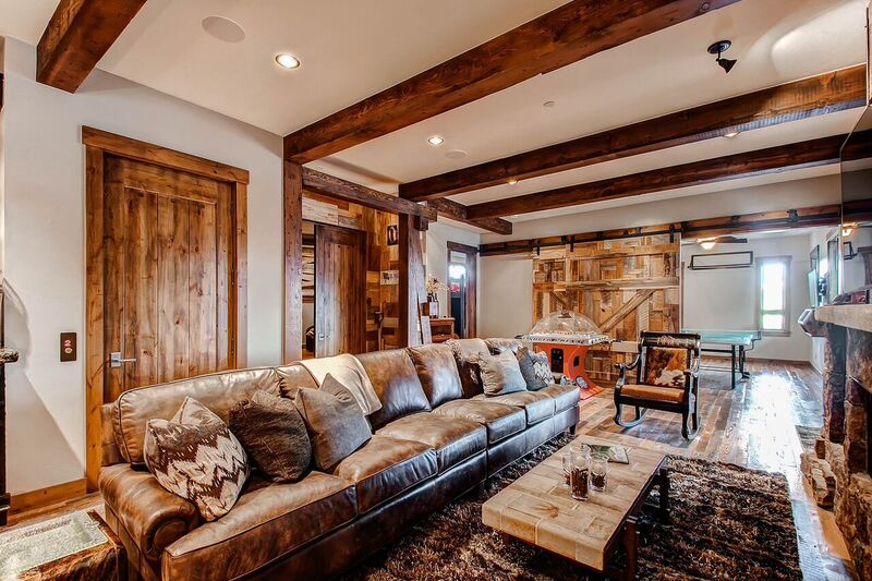reclaimed wood home design