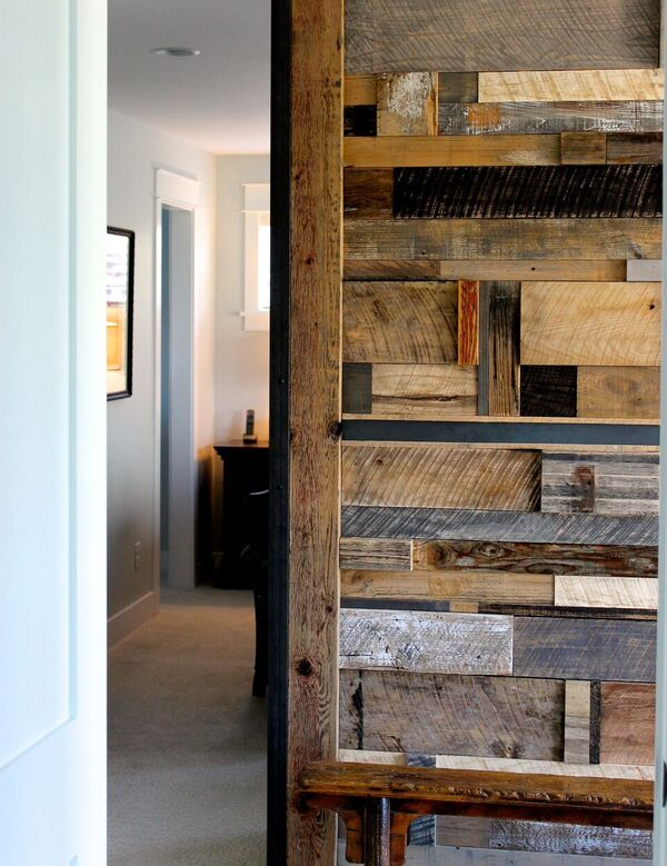 reclaimed walls home design