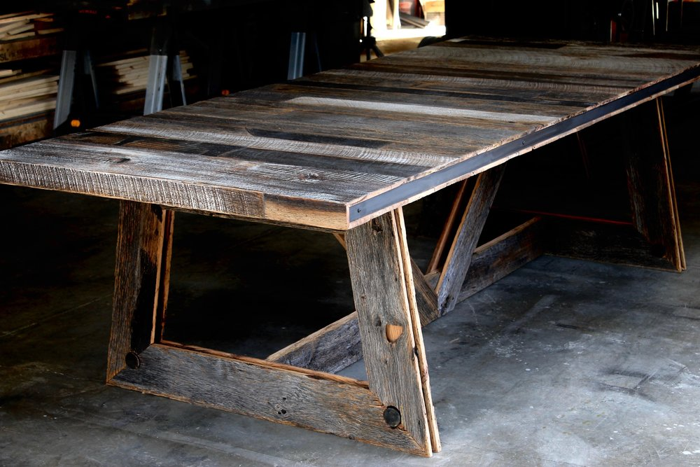 The Twenty1Five Reclaimed Wood Farmhouse Style Table Is One Of Our Most  Popular Dining Tables. We Have Sourced Truly Reclaimed Wood Materials From  Farms, ...
