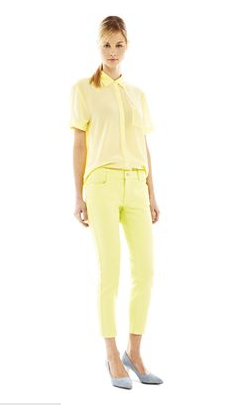Joe_Fresh_JCP yellow jeans yellow silk.jpg