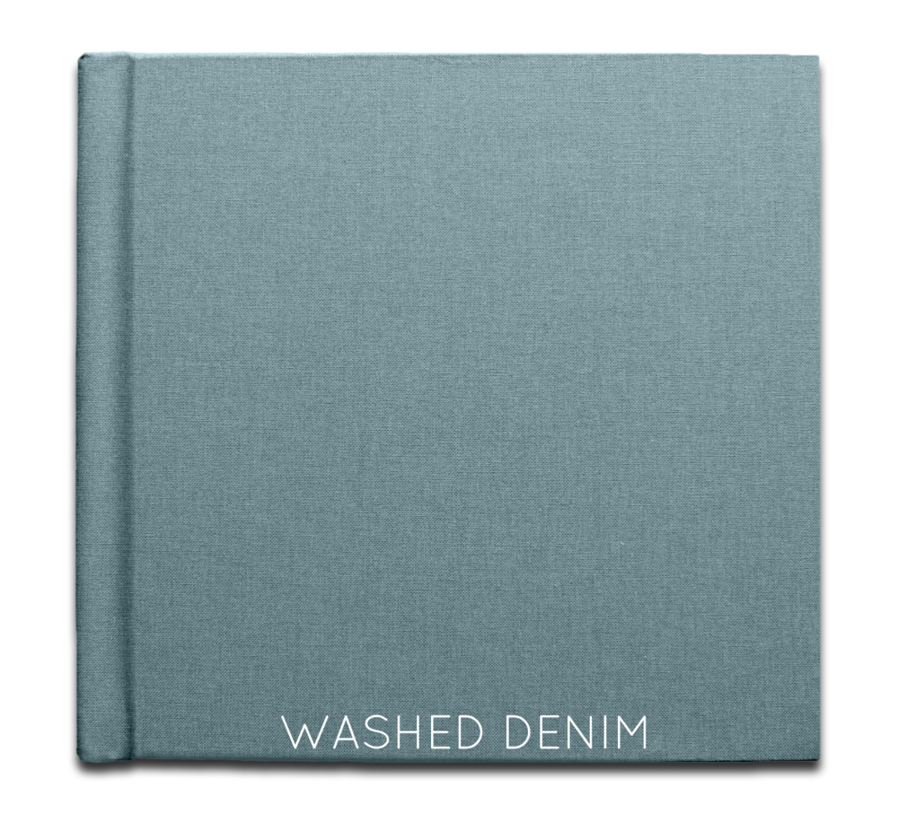 Washed Denim - Linen