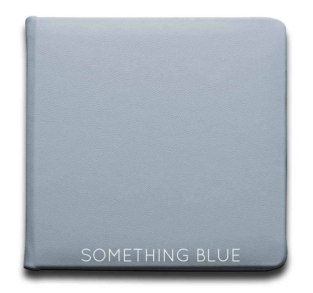 Something Blue - Leather