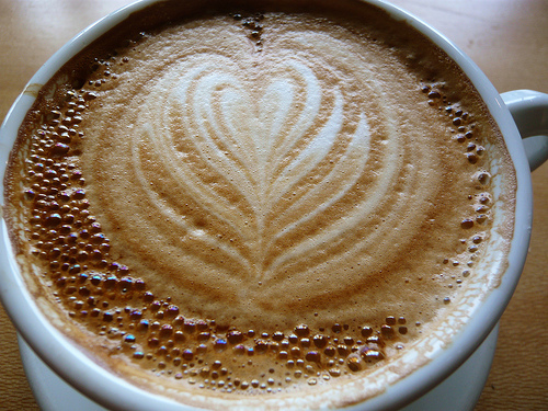 Victrola Latte by WordRidden