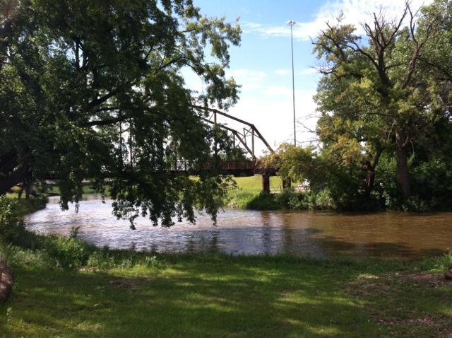 Big Sioux River, Sioux Falls, SD by Miranda B.