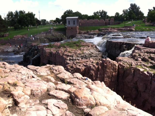 Falls Park, Sioux Falls, SD by Miranda B.