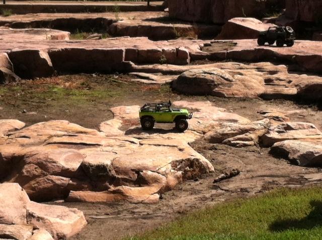 Four wheel fun, Falls Park by Miranda B.