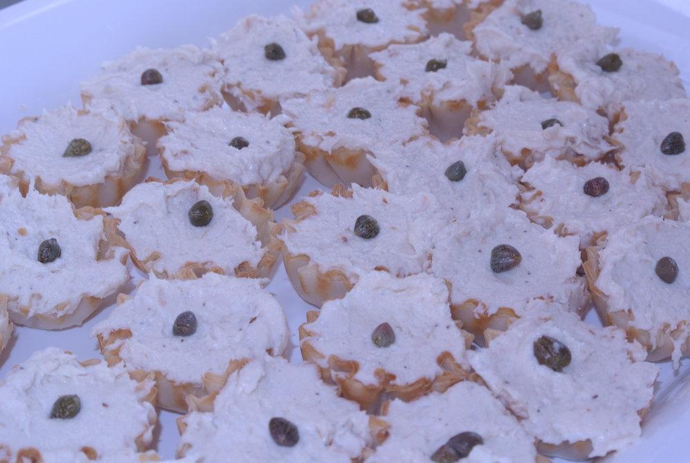 Chicken Mousse Puffs