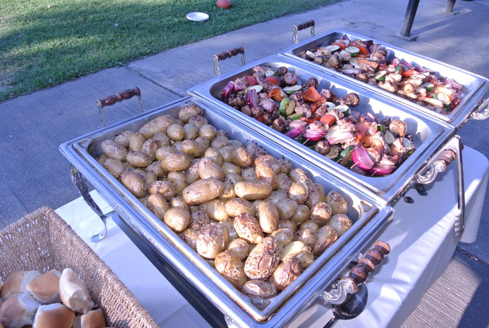 Buffet Set Up - Seneca Lake State Park