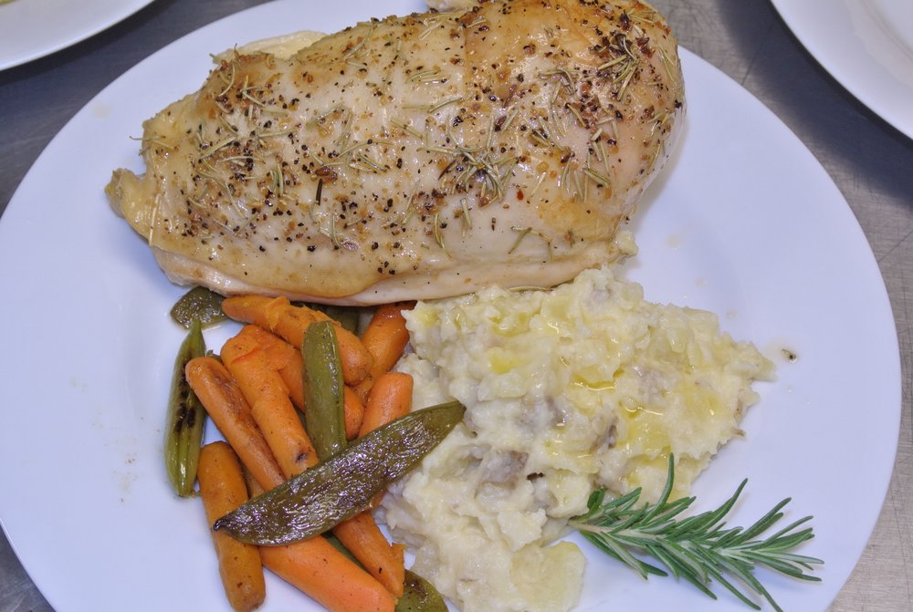 Oven Roasted Rosemary Chicken