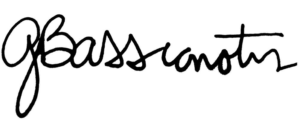 Signed: Gust (Kostandino) Bassianotis