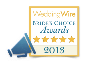 ForeverTwogether received a 2013 Bride's Choice Award.