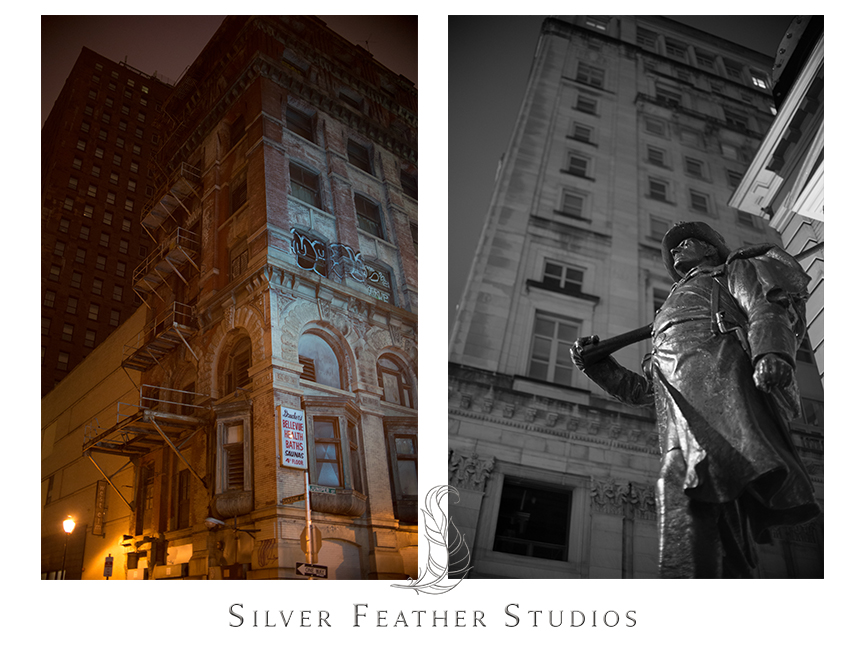 Love the statues in downtown Philadelphia, Pennsylvania.