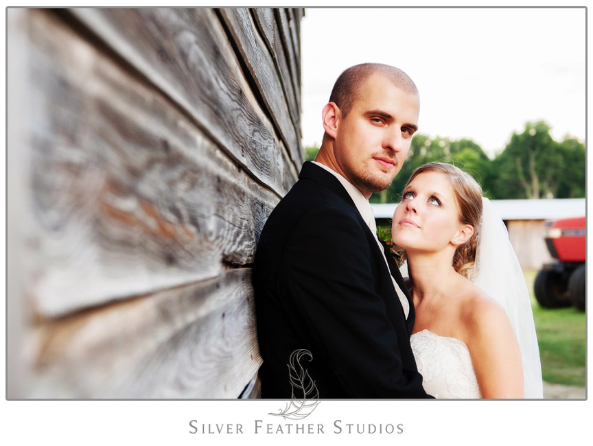 Caitlyn  & Daniel's McLeansville NC Wedding at The Hayloft. Photography & Cinematography by Silver Feather Studios.