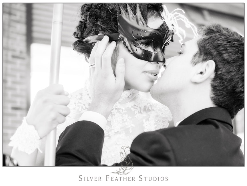 Thiago & Axel's Burlington NC Wedding at The Diamond Room. Photography & Cinematography by Silver Feather Studios.