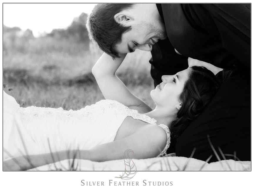 Ashley & Sam's Burlington NC Elopement at Starlight Meadows. Photography & Cinematography by Silver Feather Studios.