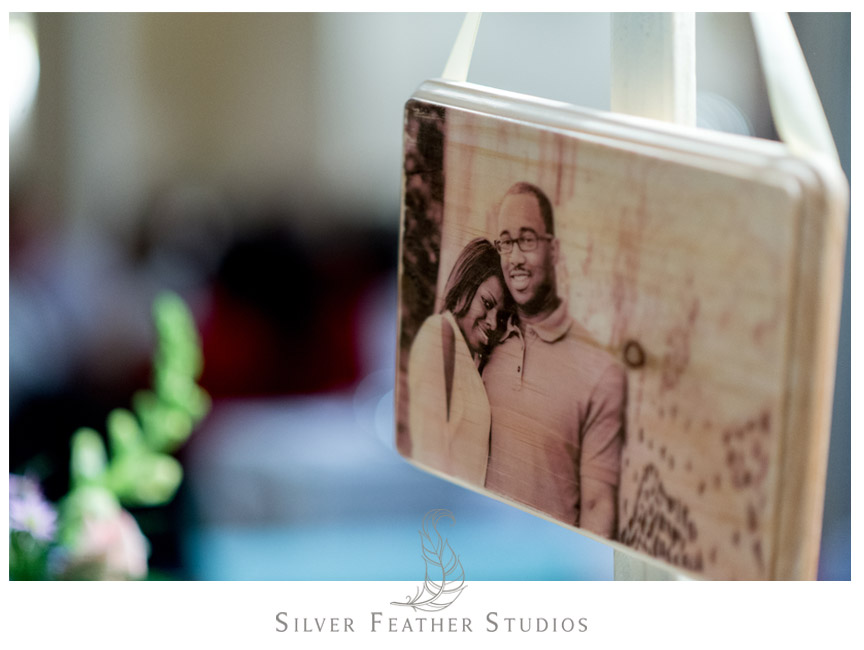 Images painted onto wooden frames by Matt Walters - Philadelphia Wedding Photographer.