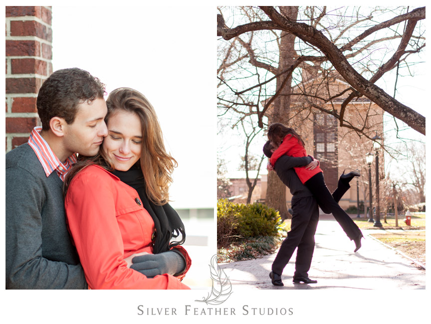 UNC Chapel Hill Engagement session by North Carolina Engagement Photography & Videography