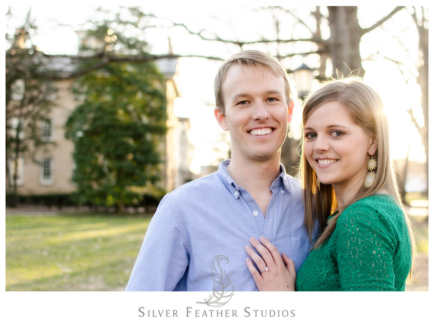 Gorgeous smiles from the bride and groom in Chapel Hill, North Carolina © Silver Feather Studios, Chapel Hill Wedding Videography & Photography