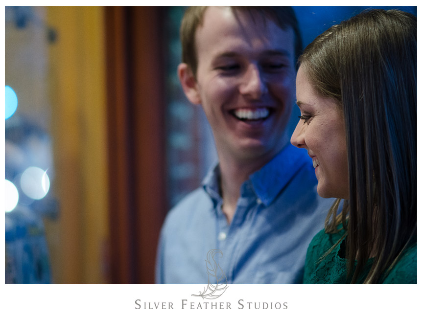Kelly & Hugh's UNC Chapel Hill Engagement Session. © Silver Feather Studios, Chapel Hill Wedding Videography and Photography