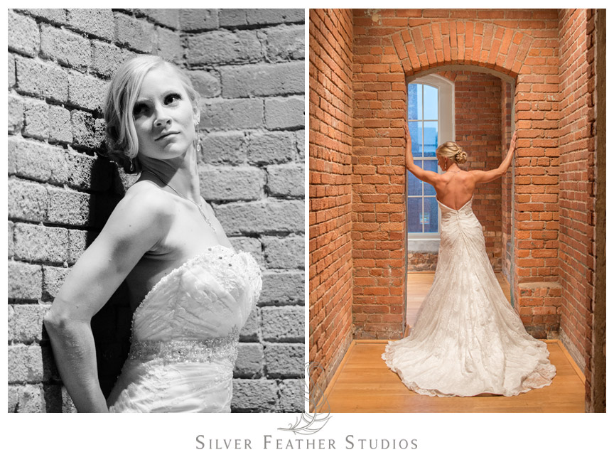 Sexy bridal session in Durham North Carolina by Silver Feather Studios.