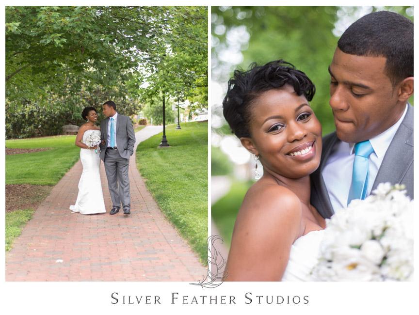 UNC Greensboro bridal session by North Carolina Wedding Photograhper