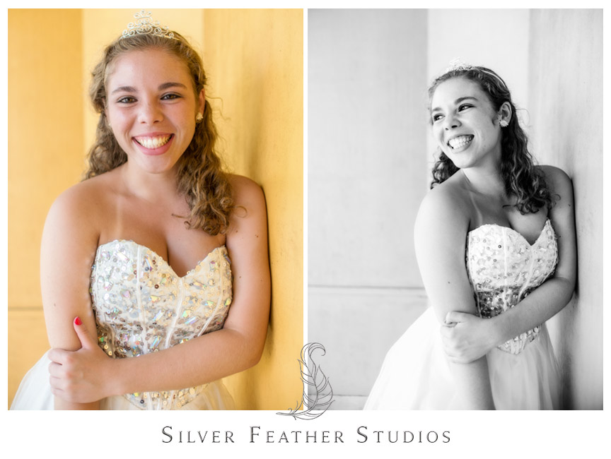 Downtown Gibsonville portrait session by Silver Feather Studios