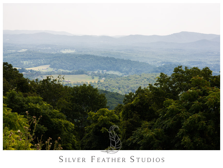 Blue Ridge Skyline Parkway Drive in Virginia