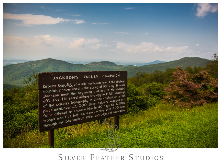 Skyline Drive by the Blue Ridge Parkway in Virginia
