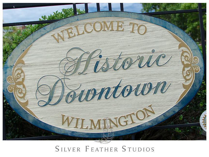 Chic engagement photography in downtown Wilmington, NC.  © Silver Feather Studios, Burlington, NC Wedding Photography & Videography