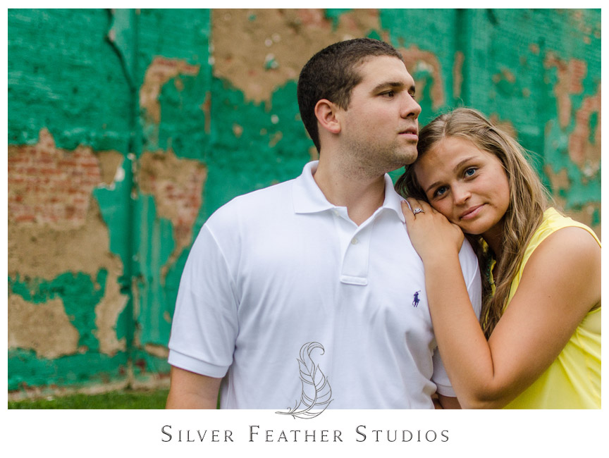 Jenna and Leo's Durham Engagement Session. © Silver Feather Studios, North Carolina Wedding Photography & Videography