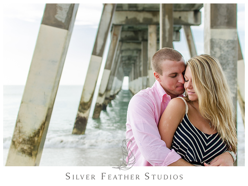 Megan and Jay's Wilmington Engagement Session. © Silver Feather Studios, North Carolina Wedding Photography & Videography