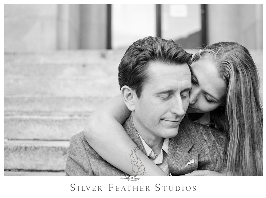 Brittany and Josh's Asheville Engagement Session. © Silver Feather Studios, North Carolina Wedding Photography & Videography
