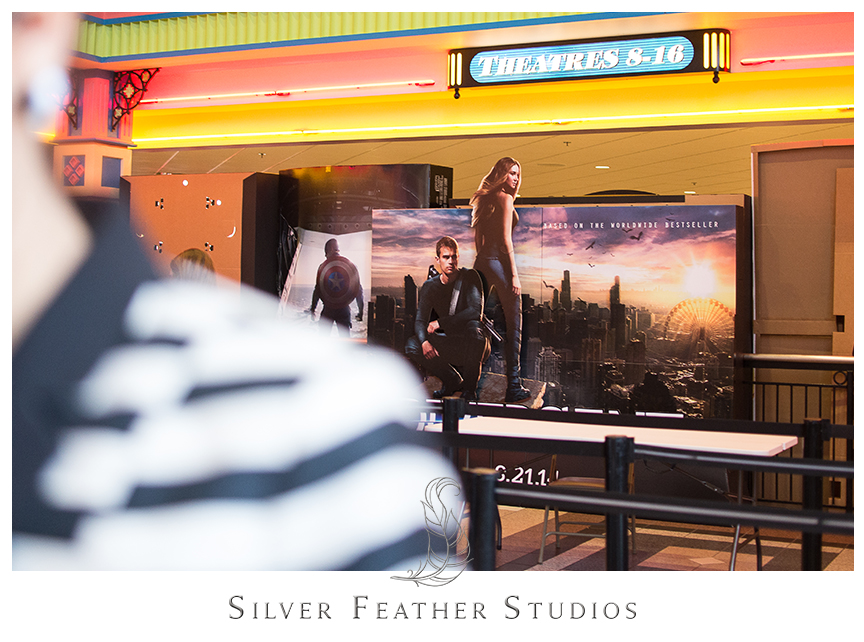 Divergent movie red carpet screening and premiere in Atlanta, GA. © Silver Feather Studios, NC Wedding Photography