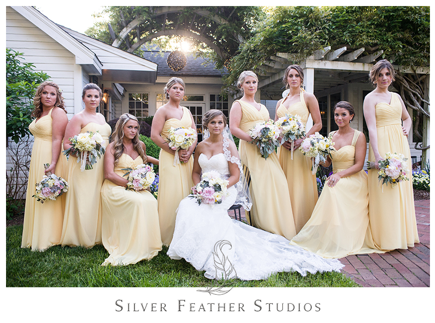 Jenna and Leo's Fearrington Village wedding in Pittsboro, North Carolina. © Silver Feather Studios, a Pittsboro wedding photographer and cinematographer.