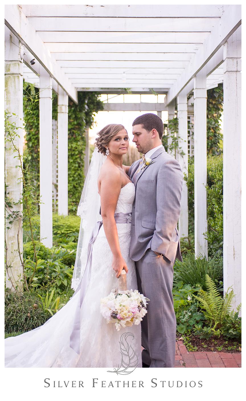 Jenna and Leo's Fearrington Village wedding in Pittsboro, North Carolina. © Silver Feather Studios, a Pittsboro wedding photographer and cinematographer.