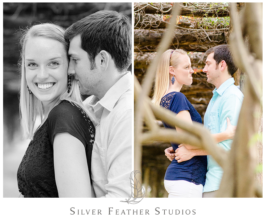 chapel hill wedding photography and videography, erin and jacob, coker arboretum engagement.