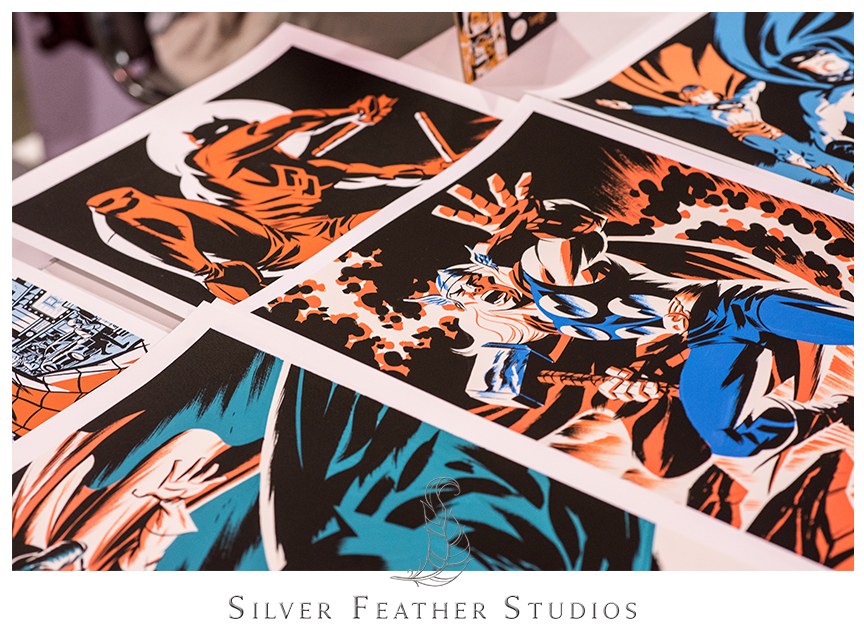 2014 Heroes Convention in Charlotte, North Carolina. © Silver Feather Studios, Geeky Wedding Photographers in NC