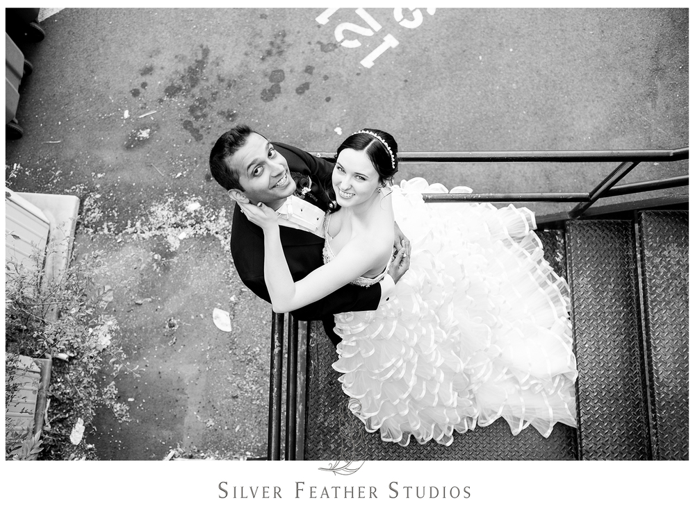 romantic wedding videography in greensboro by silver feather studios.