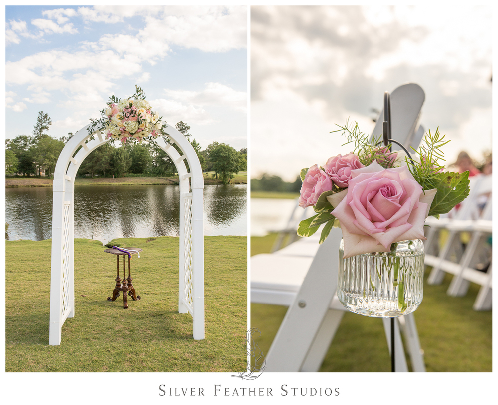 pink and ivory wedding in wallace, nc. wedding photogaphers in raleigh, nc.