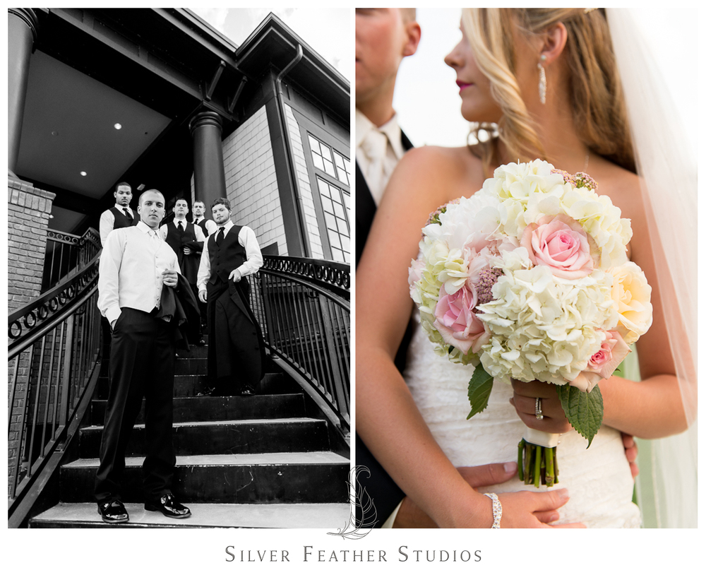 Burlington wedding photography and videography by Silver Feather Studios.