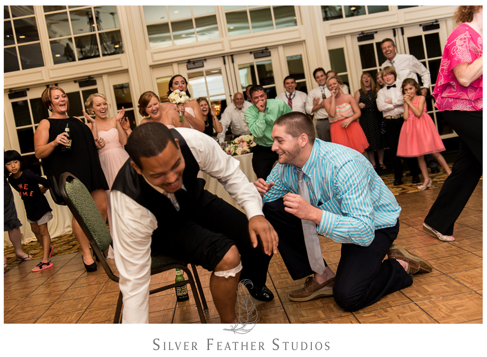 Fun photos by Silver Feather Studios, A Burlington North Carolina wedding photo and video company.