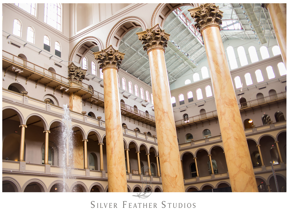 The National Building Museum in Washington D.C.