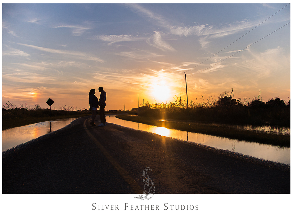 cape hatteras anniversary session by burlington, nc wedding photographer, silver feather studios.
