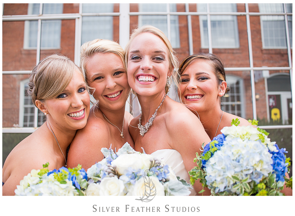 gorgeous cotton room wedding. images by wedding photographer in durham, silver feather studios.