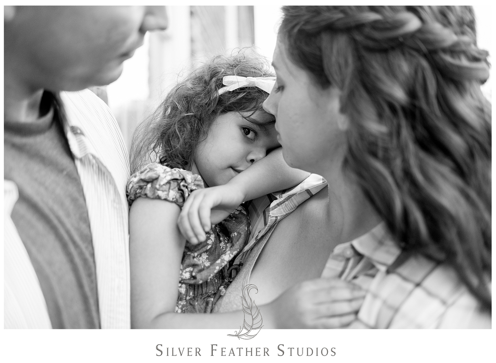 engagement session by silver feather studios. featuring military family.