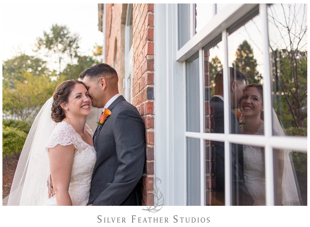 emily and daniel's industrial wedding photographed by wedding photographer in durham, silver feather studios.