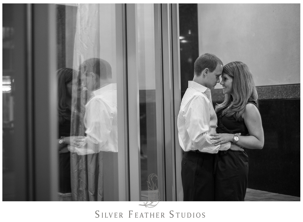 Charlotte engagement photography by Silver Feather Studios.